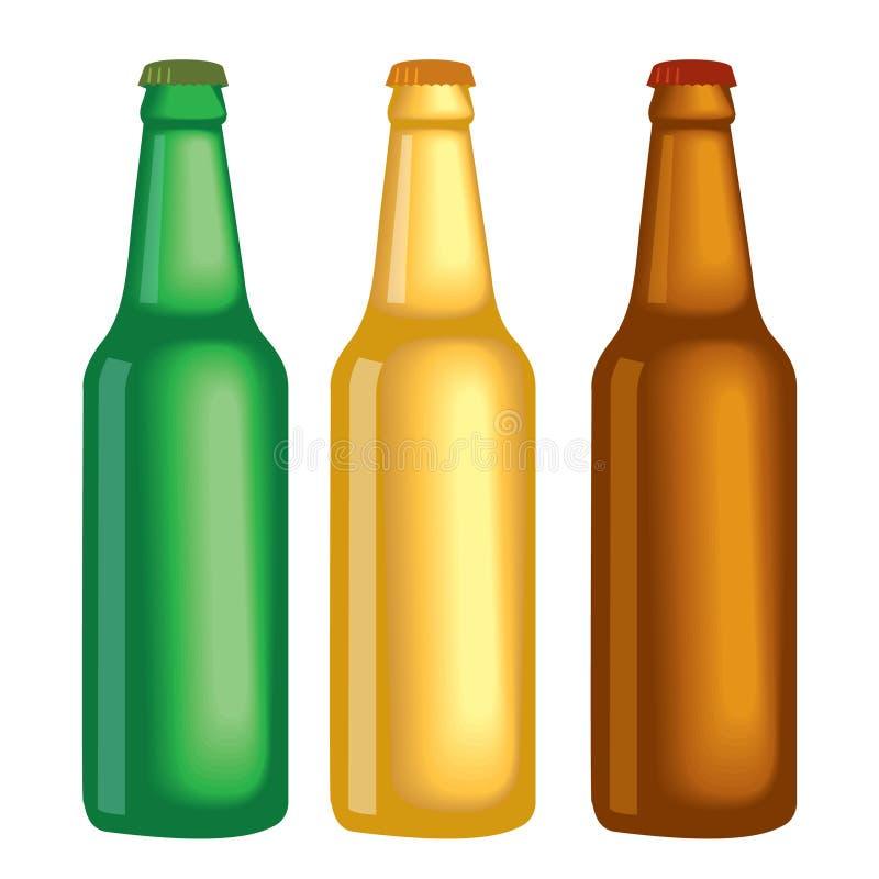 μπουκάλια διανυσματική απεικόνιση