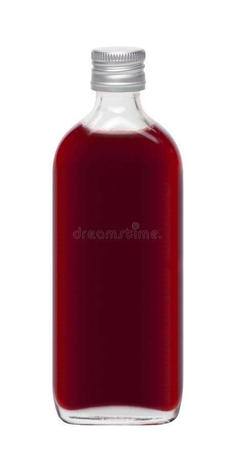 Μπουκάλι ιατρικής που απομονώνεται στοκ φωτογραφία με δικαίωμα ελεύθερης χρήσης