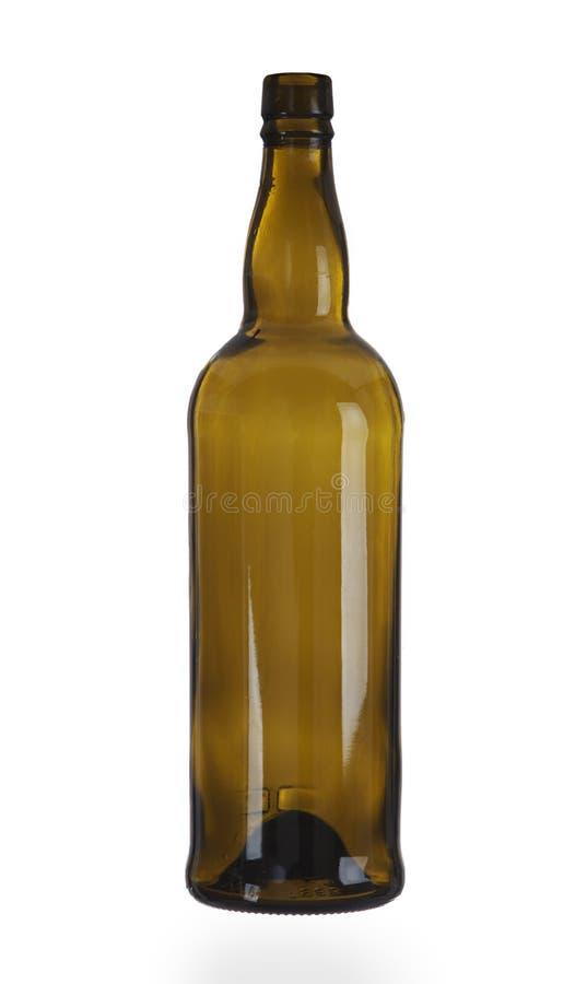 μπουκάλι κενό στοκ εικόνες