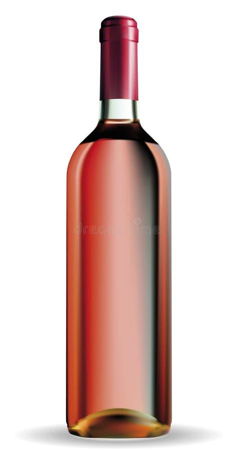 Μπουκάλι κρασιού απεικόνιση αποθεμάτων