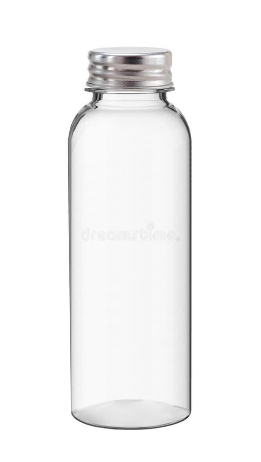 Μπουκάλι νερό, που απομονώνεται στο λευκό στοκ εικόνες με δικαίωμα ελεύθερης χρήσης