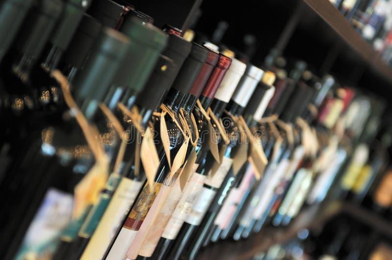 Μπουκάλι του κρασιού στοκ εικόνα με δικαίωμα ελεύθερης χρήσης