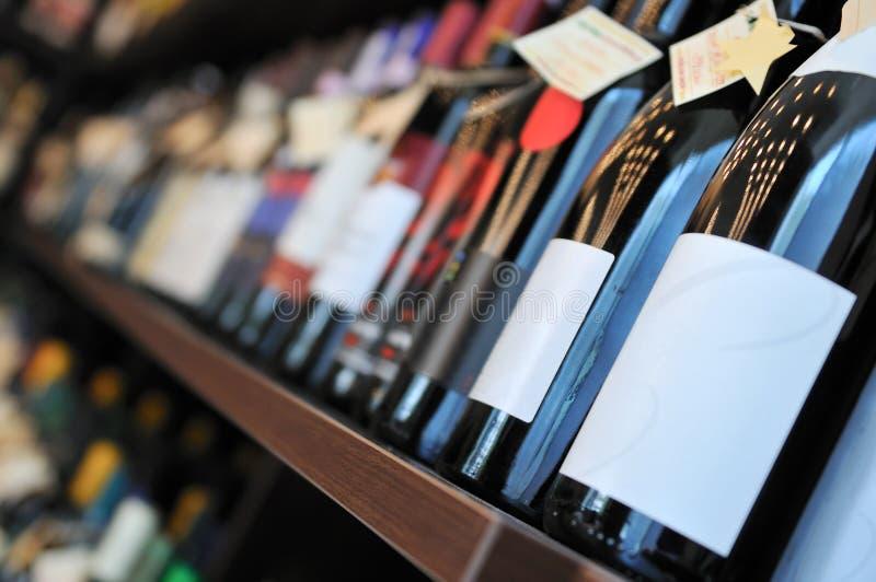 Μπουκάλι του κρασιού στοκ εικόνα
