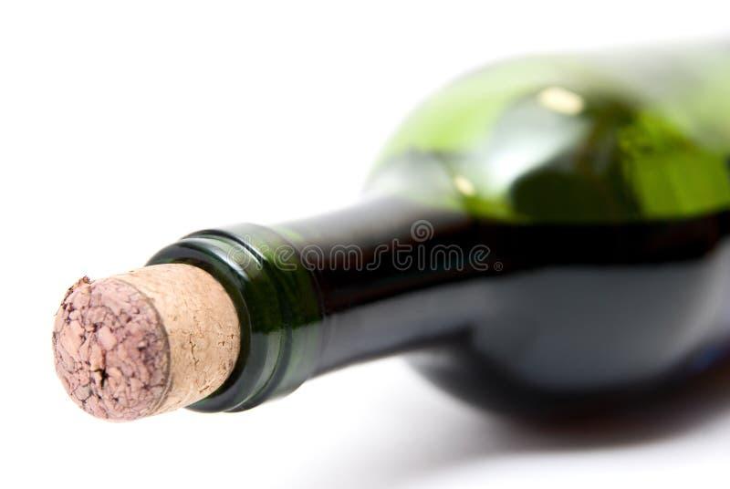 Μπουκάλι του κόκκινου κρασιού στοκ φωτογραφίες με δικαίωμα ελεύθερης χρήσης