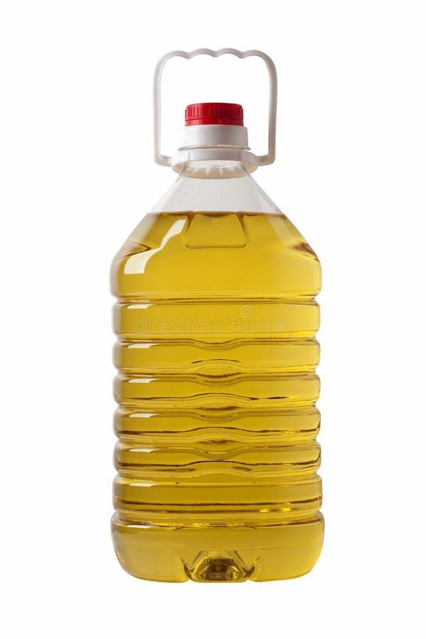 μπουκάλι του λαδιού μαγειρέματος στοκ φωτογραφία