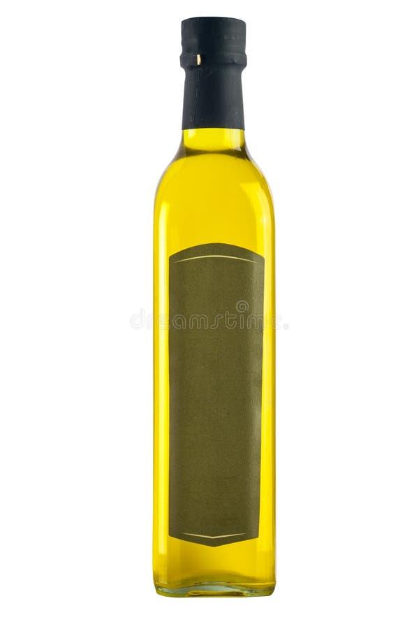 Μπουκάλι του πρόσθετου παρθένου ελαιολάδου που απομονώνεται στοκ εικόνα με δικαίωμα ελεύθερης χρήσης