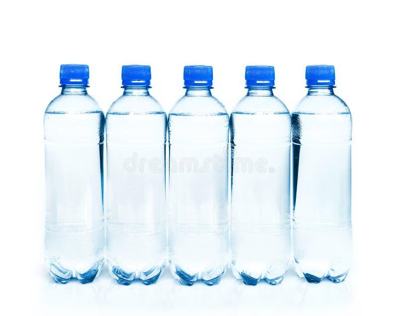 Μπουκάλια του νερού στοκ εικόνες