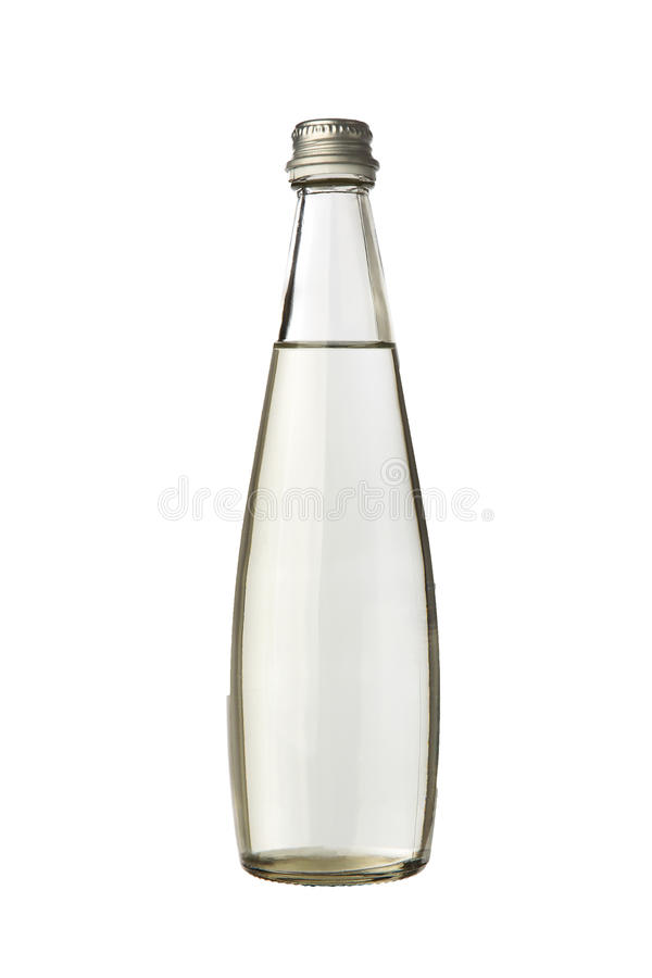 Μπουκάλι γυαλιού με το νερό