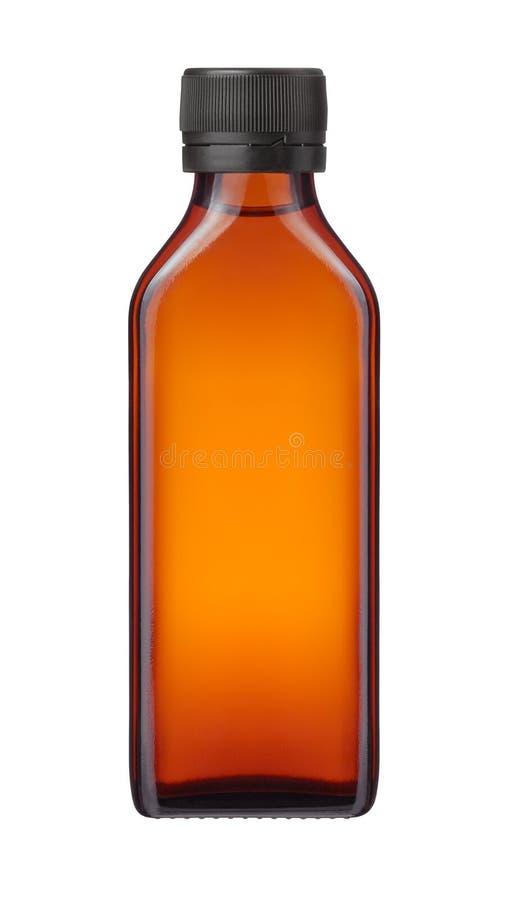 Μπουκάλι ιατρικής ή καλλυντικό προϊόν στοκ εικόνα