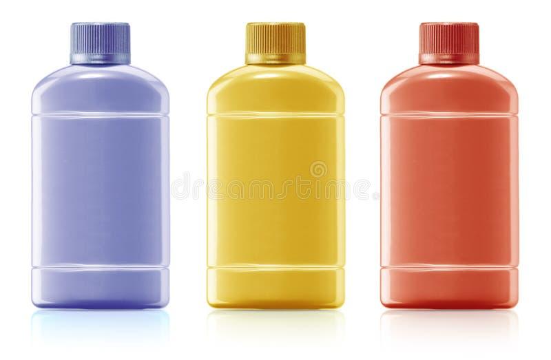 Μπουκάλι σαμπουάν στοκ φωτογραφίες με δικαίωμα ελεύθερης χρήσης