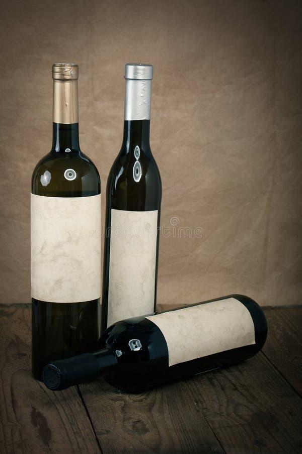 Μπουκάλι της αμπέλου στοκ εικόνα με δικαίωμα ελεύθερης χρήσης