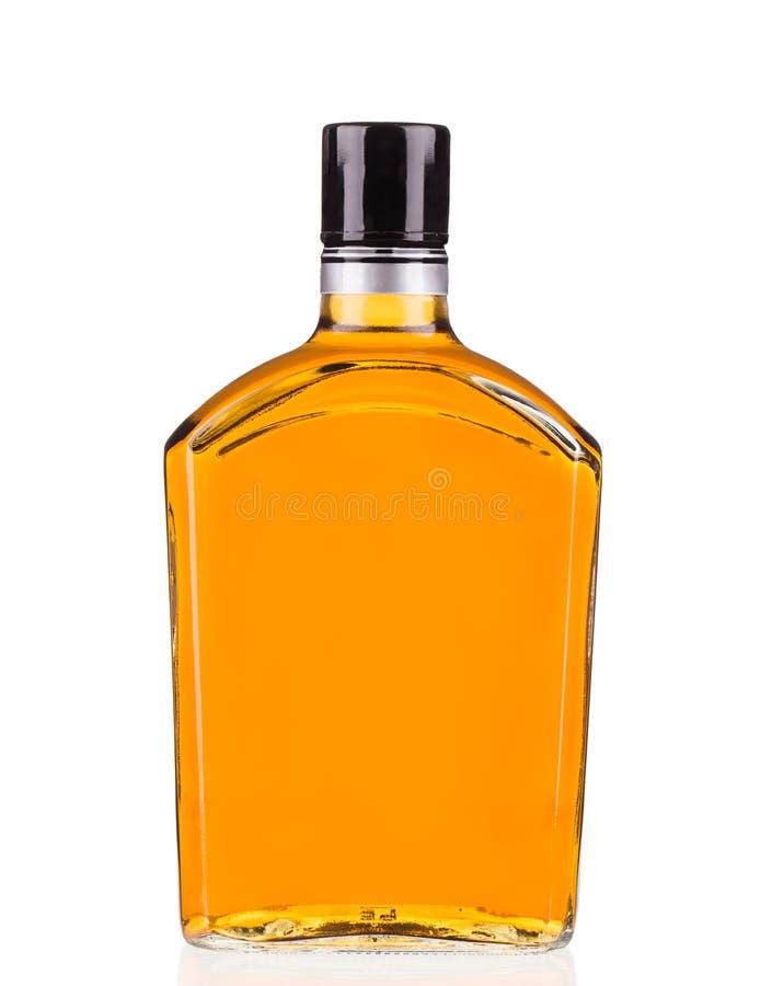 Μπουκάλι του ουίσκυ στοκ φωτογραφίες με δικαίωμα ελεύθερης χρήσης