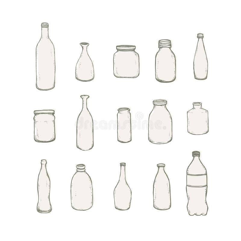 Μπουκάλι απεικόνιση αποθεμάτων