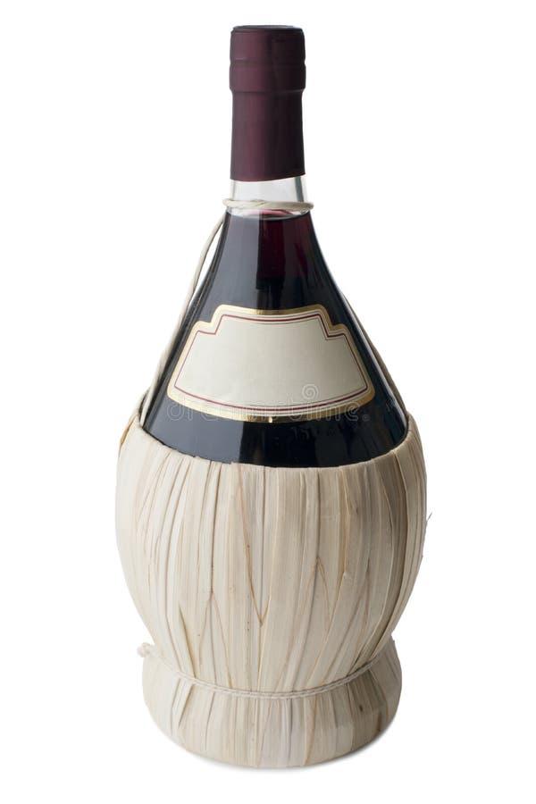 Μπουκάλι Chianti στοκ φωτογραφία με δικαίωμα ελεύθερης χρήσης