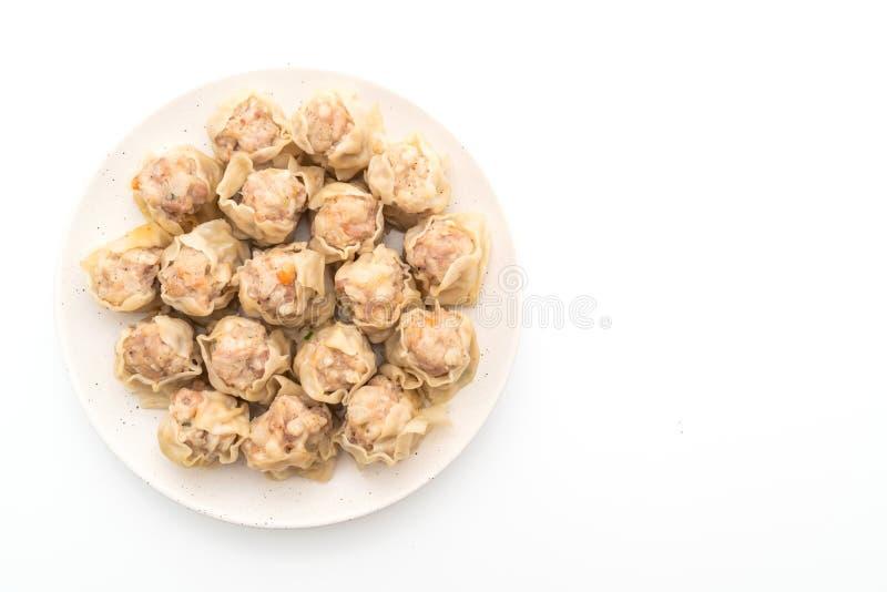 Μπουλέττες χοιρινού κρέατος με τη σάλτσα στοκ εικόνα με δικαίωμα ελεύθερης χρήσης