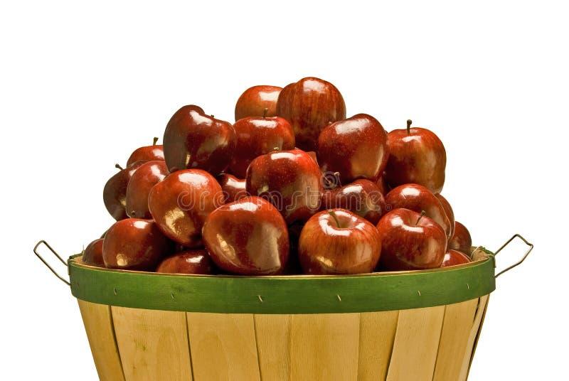 Μπούσελ των μήλων στοκ φωτογραφία