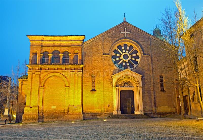 Μπολόνια - Άγιος Dominic ή μπαρόκ εκκλησία SAN Domenico στοκ εικόνες