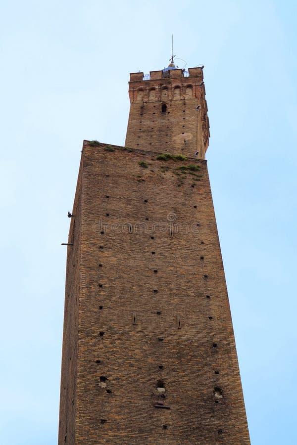 Μπολόνια οφειλόμενη Ιταλία LE torri στοκ φωτογραφία με δικαίωμα ελεύθερης χρήσης