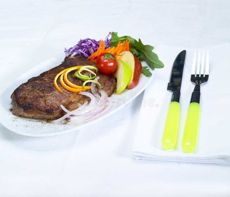μπριζόλα βόειου κρέατος ribeye στοκ φωτογραφίες