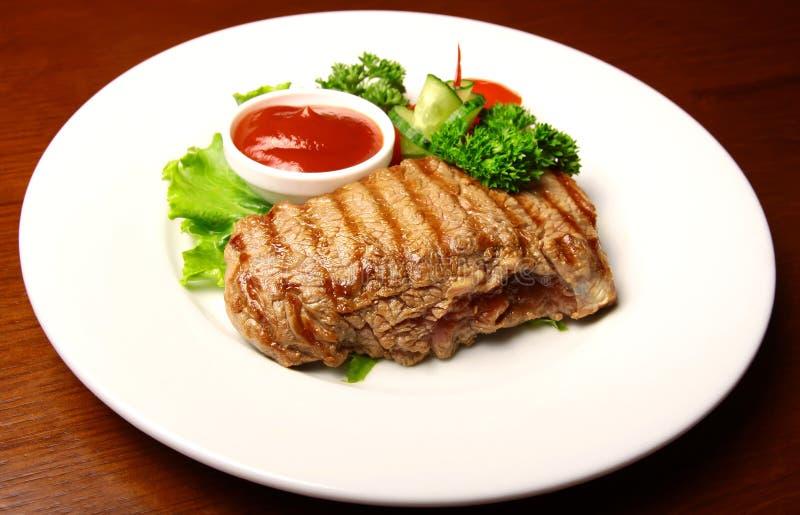 Μπριζόλα χοιρινού κρέατος στοκ εικόνα