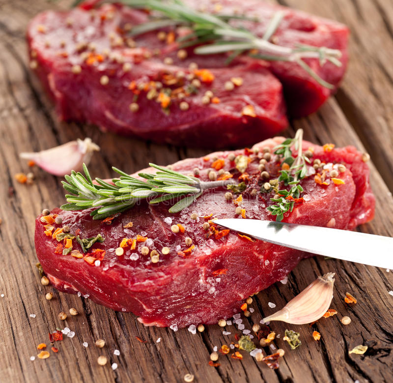 Μπριζόλα βόειου κρέατος. στοκ εικόνες με δικαίωμα ελεύθερης χρήσης