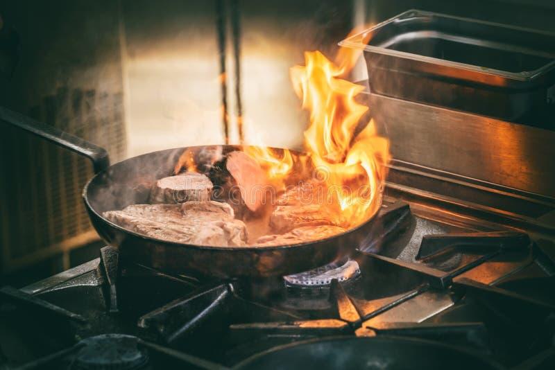 Μπριζόλα κρέατος χοιρινού κρέατος στοκ φωτογραφίες
