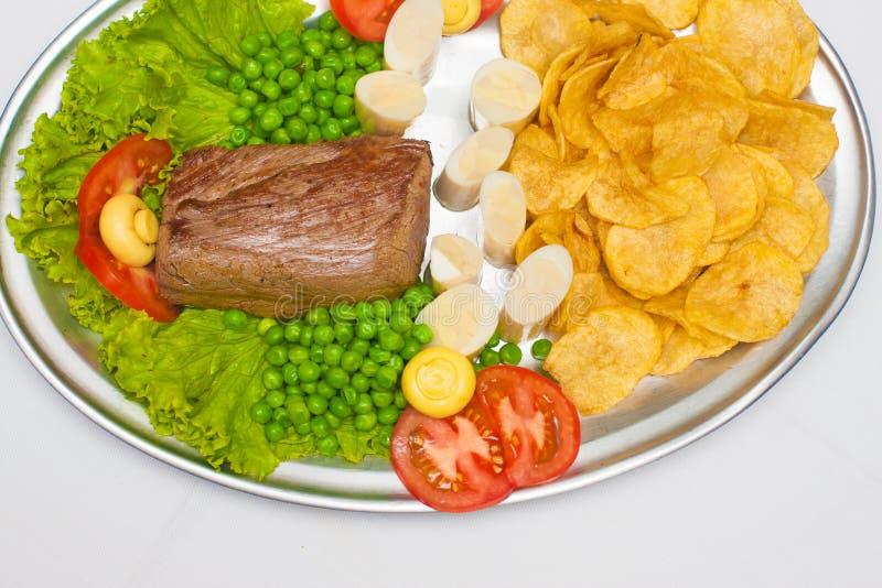 Μπριζόλα Mignon λωρίδων στοκ φωτογραφία με δικαίωμα ελεύθερης χρήσης