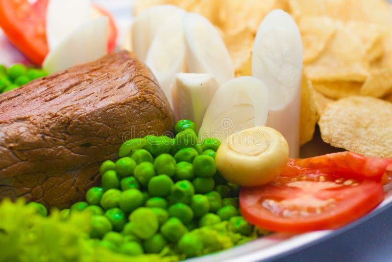 Μπριζόλα Mignon λωρίδων στοκ εικόνες με δικαίωμα ελεύθερης χρήσης