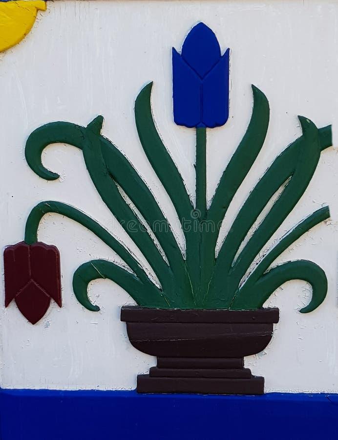 Μπροστινές πόρτες Darßerhistorische σε Fischland στοκ φωτογραφία με δικαίωμα ελεύθερης χρήσης