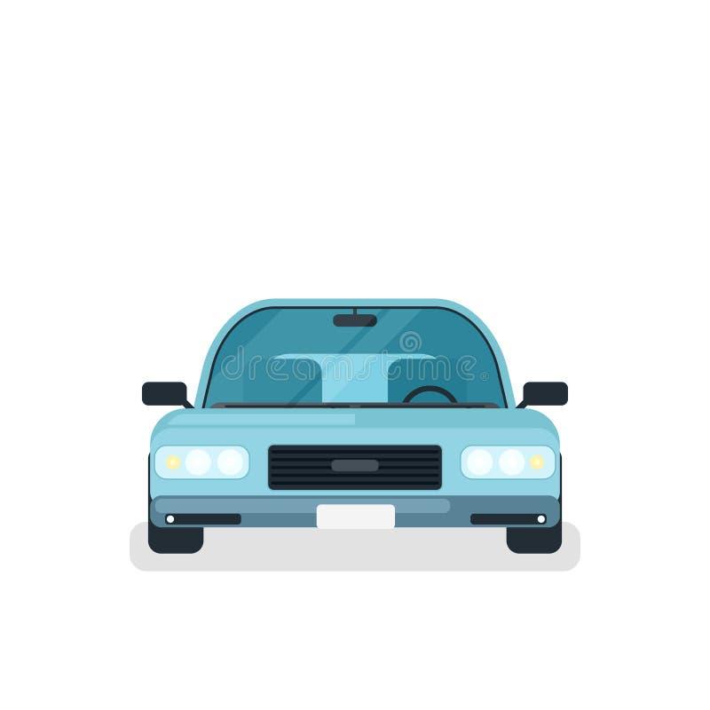 Μπροστινή άποψη αυτοκινήτων Madern διανυσματική απεικόνιση