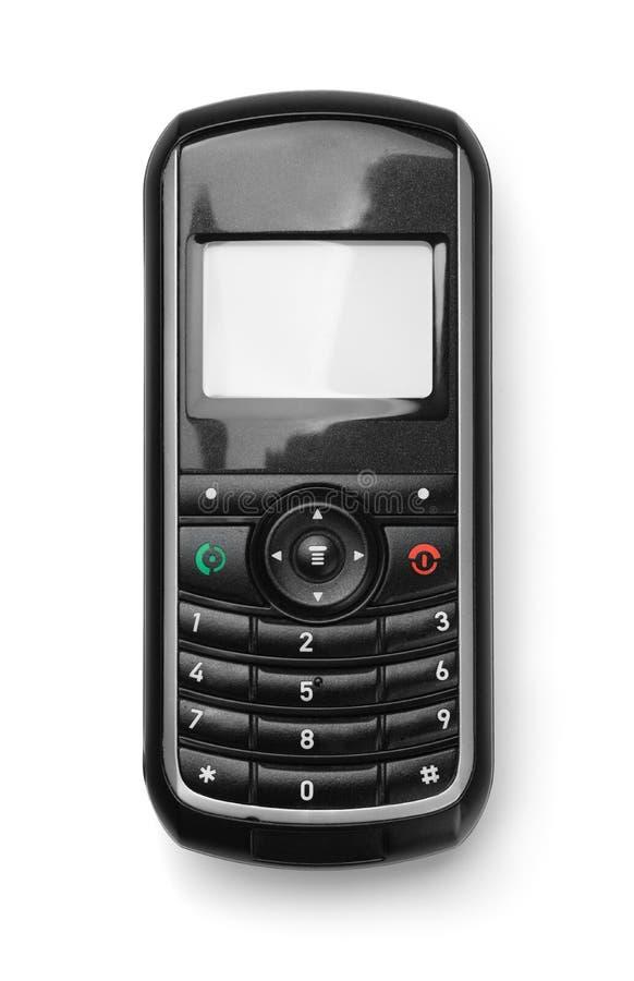 Μπροστινή άποψη του παλαιού τηλεφώνου κυττάρων στοκ φωτογραφίες με δικαίωμα ελεύθερης χρήσης