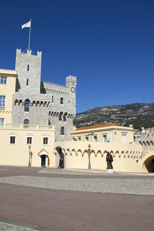 Παλάτι πρίγκηπα του Μονακό στοκ εικόνες