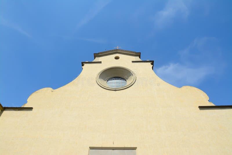 Μπροστινή άποψη Spirito Santo στοκ εικόνα με δικαίωμα ελεύθερης χρήσης