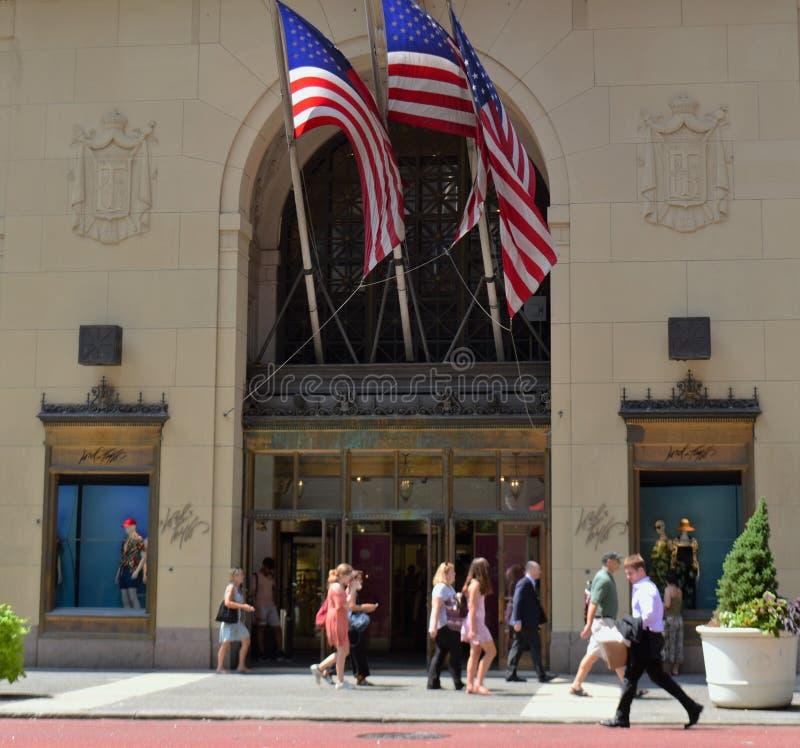 Μπροστινή είσοδος Λόρδου πόλεων της Νέας Υόρκης & πολυκαταστημάτων του Taylor στοκ φωτογραφία με δικαίωμα ελεύθερης χρήσης