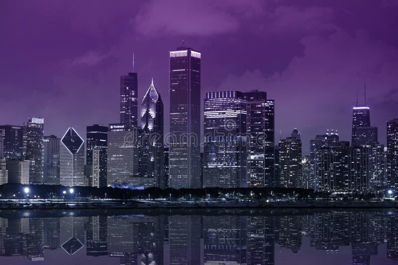 μπροστινή λίμνη του Σικάγου στοκ φωτογραφία με δικαίωμα ελεύθερης χρήσης