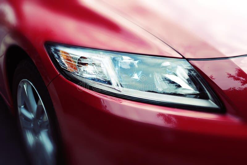 Μπροστινή πλευρά ενός αυτοκινήτου στοκ εικόνες με δικαίωμα ελεύθερης χρήσης