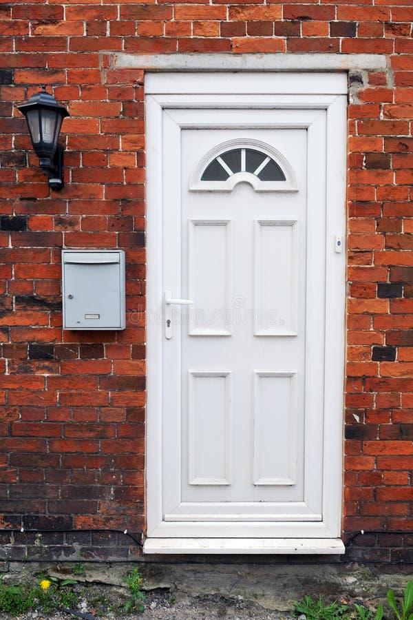 Μπροστινή πόρτα σπιτιών στοκ εικόνα