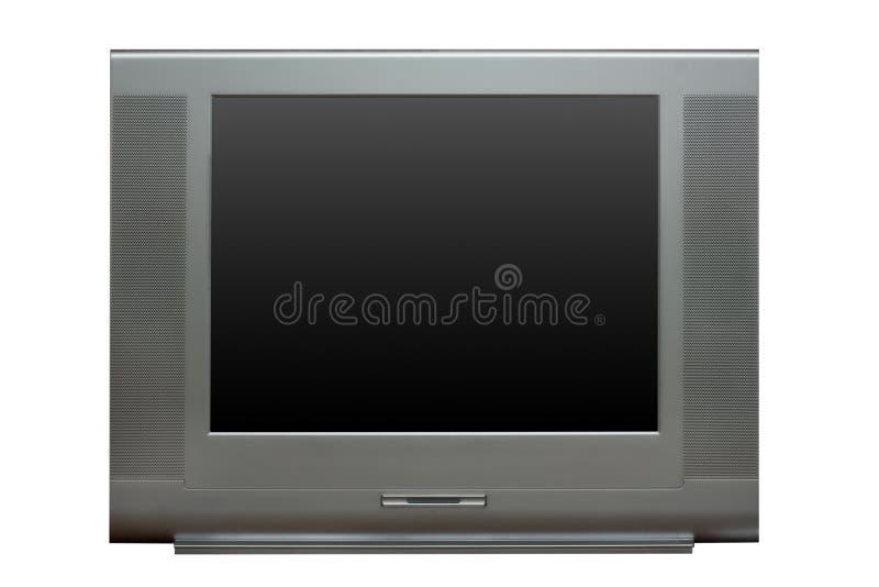 μπροστινή όψη TV στοκ εικόνες με δικαίωμα ελεύθερης χρήσης