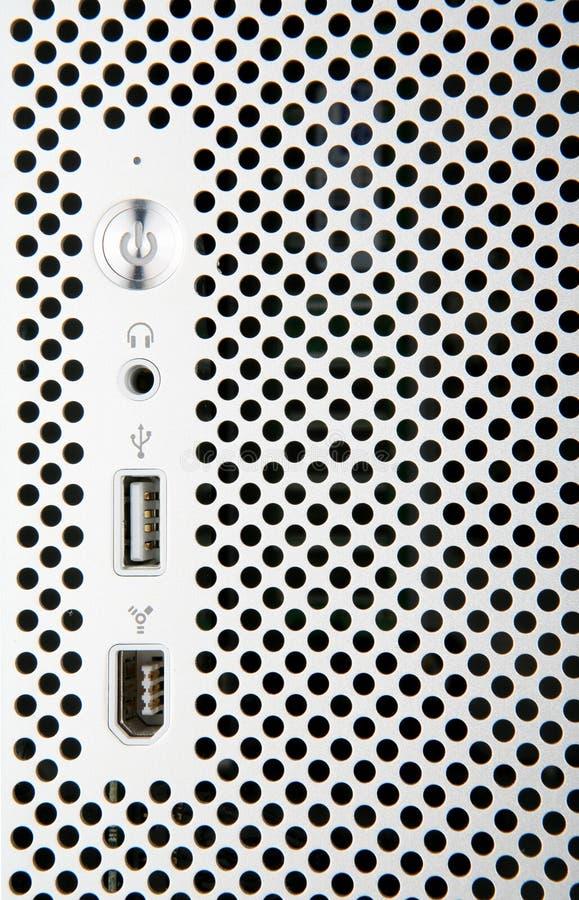 μπροστινό ασήμι υπολογι&sigma στοκ φωτογραφίες με δικαίωμα ελεύθερης χρήσης