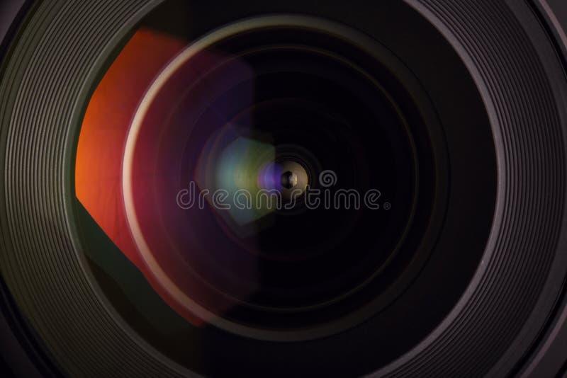 Μπροστινό γυαλί του ευρύ φακού γωνίας στοκ εικόνα με δικαίωμα ελεύθερης χρήσης