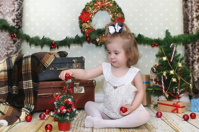 μπροστινό κορίτσι Χριστο&upsil στοκ φωτογραφίες