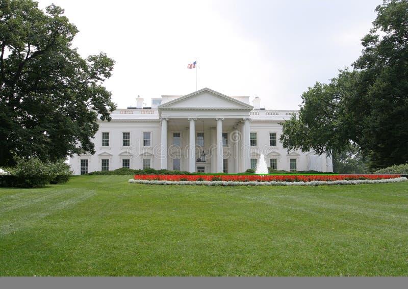 μπροστινό λευκό της Ουάσιγκτον σπιτιών στοκ φωτογραφία με δικαίωμα ελεύθερης χρήσης