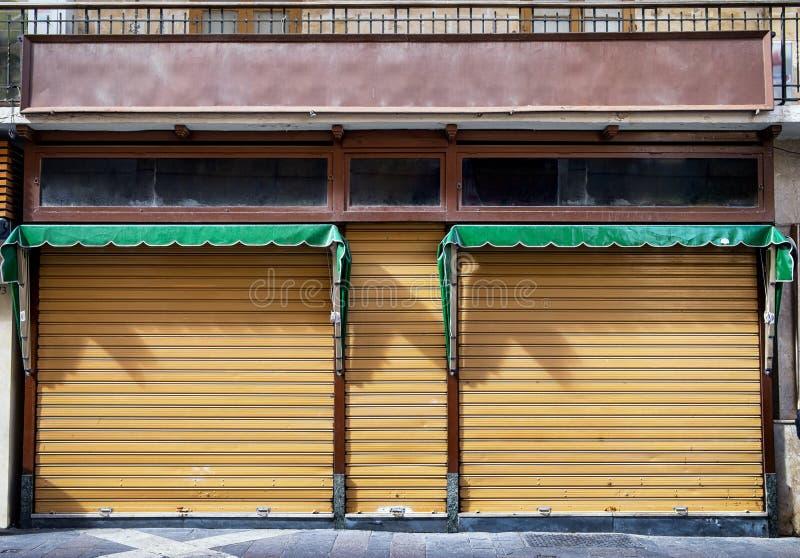 μπροστινό παλαιό κατάστημα στοκ φωτογραφία