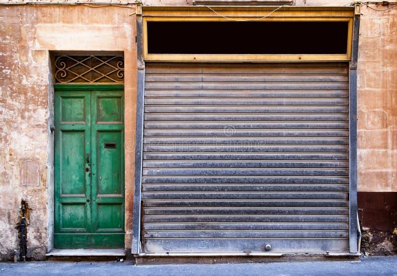 μπροστινό παλαιό κατάστημα στοκ εικόνες με δικαίωμα ελεύθερης χρήσης