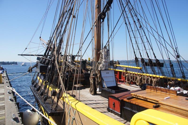 Μπροστινό τμήμα ενός ψηλού σκάφους στοκ εικόνες