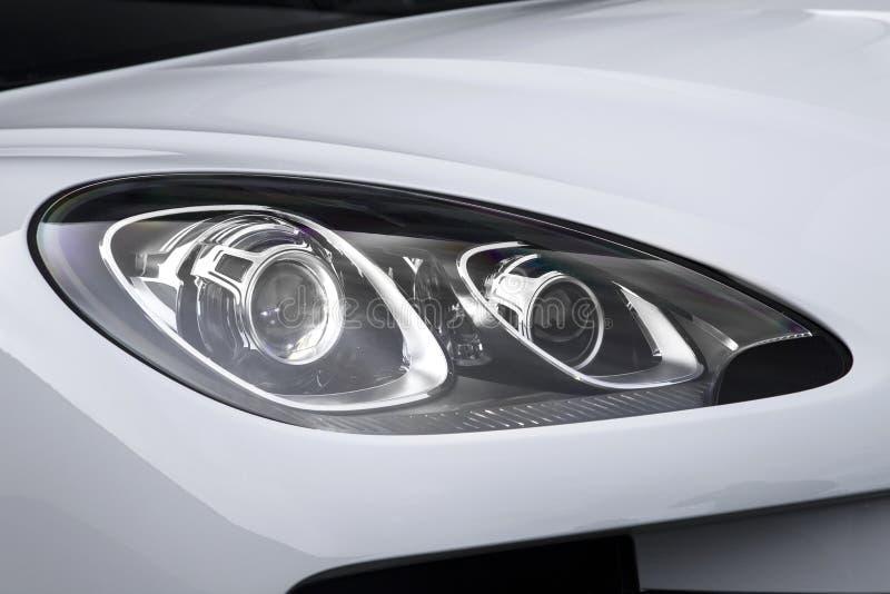 μπροστινό φως αυτοκινήτων στοκ εικόνες με δικαίωμα ελεύθερης χρήσης