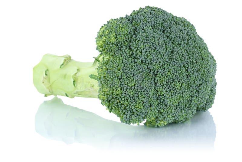 Μπρόκολου λαχανικό που απομονώνεται φρέσκο στοκ φωτογραφίες με δικαίωμα ελεύθερης χρήσης