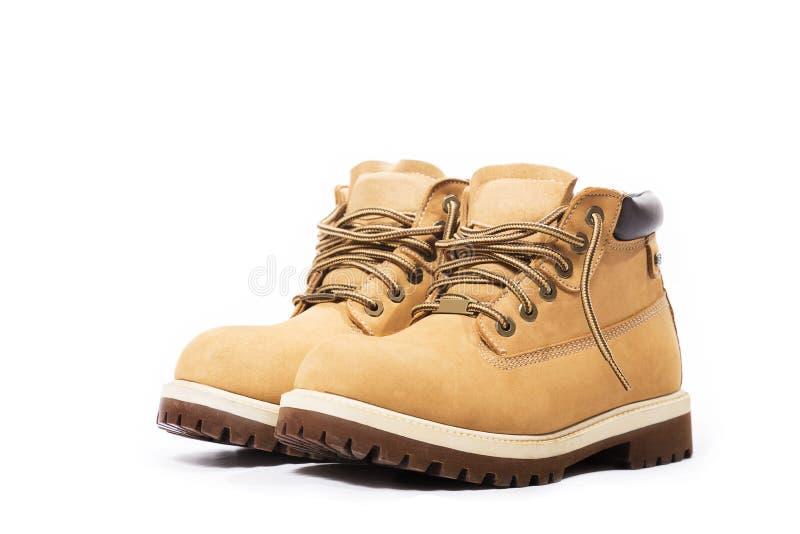 Μπότες δέρματος στοκ εικόνα με δικαίωμα ελεύθερης χρήσης