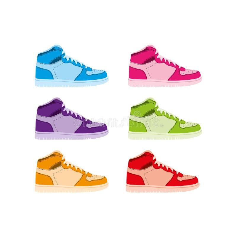 μπότες καλαθοσφαίρισης απεικόνιση αποθεμάτων