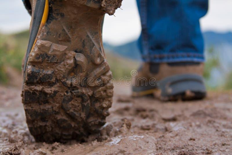 μπότες λασπώδεις στοκ φωτογραφία με δικαίωμα ελεύθερης χρήσης